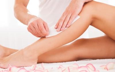 waxing legs