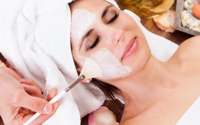 model getting a Facial Rejuvenation Treatment