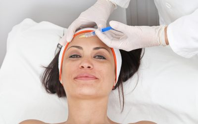 patient getting juvederm miami injectable fillers