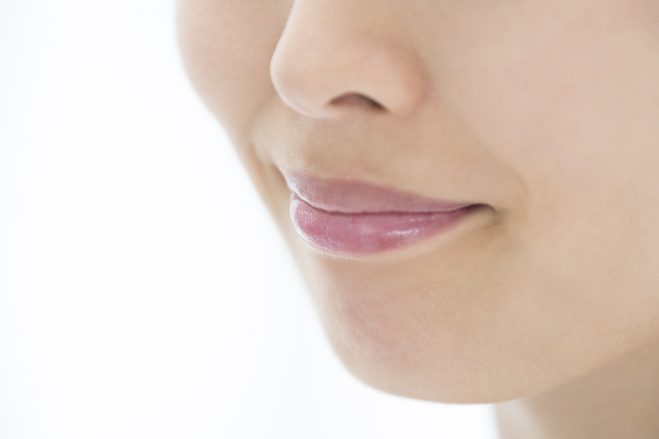 patient after a Laser Facial Treatment